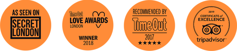 Modern Fables Escape Rooms, London Awards