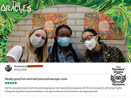 Modern Fables Escape Room - Trip Advisor 5 Star